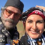 عکس های فاطمه گودرزی بازیگر سریال ایل دا با لباس محلی