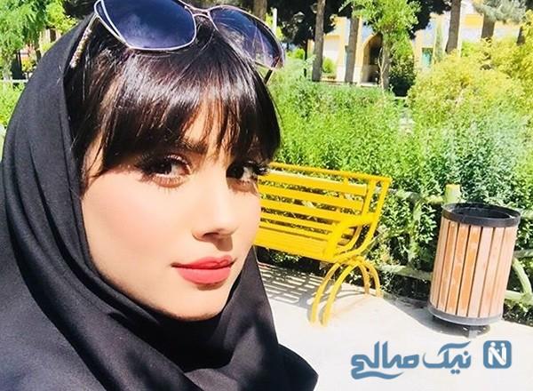 مرضیه موسوی بازیگر سریال از سرنوشت از شاعری تا بازیگری