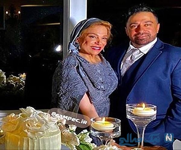 عکس عروسی دختر گوهر خیراندیش