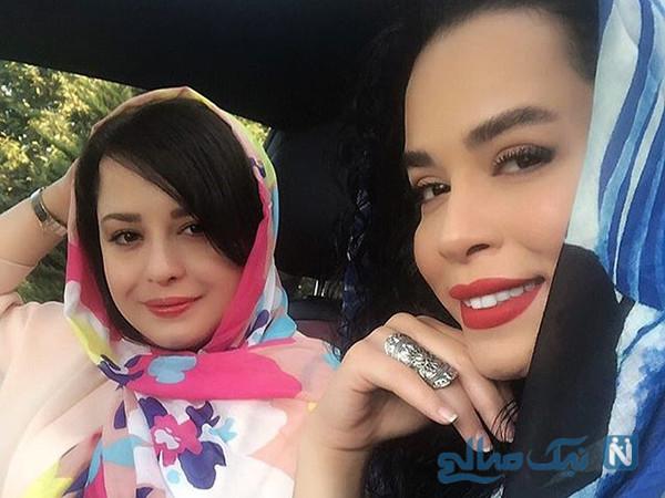 عکس های ملیکا شریفی نیا با دلتنگی و حال و هوای دم عید