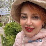 بهاره رهنما و حاجی در ویلای لاکچری لواسان با ژست های عاشقانه