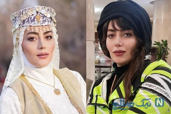 تیپ های متفاوت بازیگران زن سریال نون خ ۲ از شیدا و مرجان تا کژال و روژان