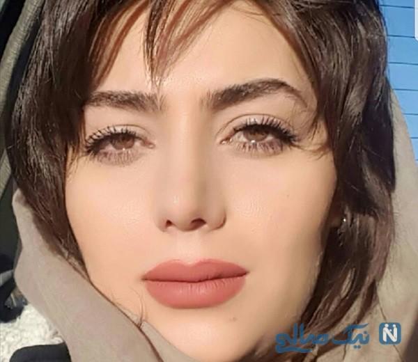 عکس های هدیه بازوند بازیگر نقش روژان در سریال نون خ از کودکی تا حال