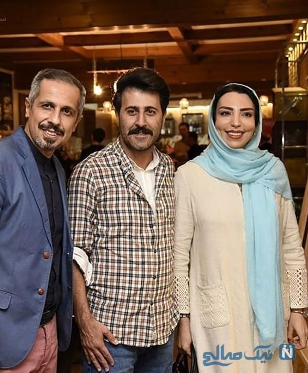 هومن حاجی عبداللهی و همسرش سلیمه قطبی از ازدواج تا شهرت