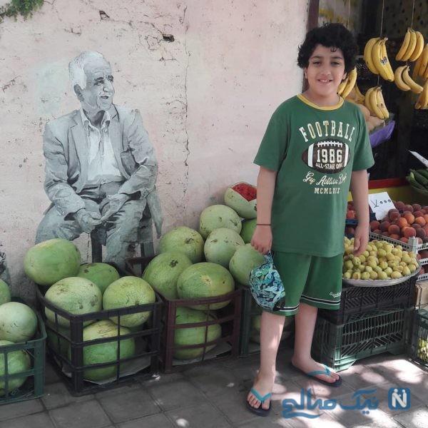مرجان شیرمحمدی و پسرش آهیل در نقش جوکر در روزهای کرونایی