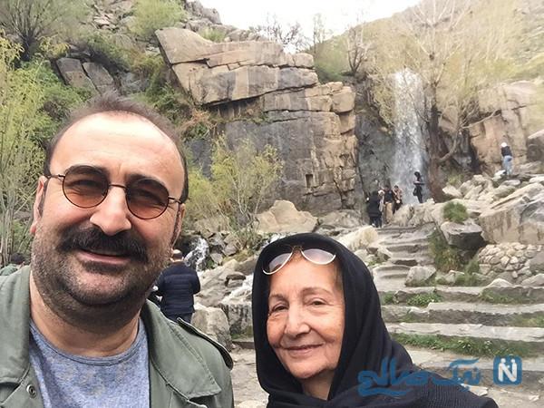 مهران احمدی در دورهمی از ازدواج و دخترش باران تا بهبود پایتخت