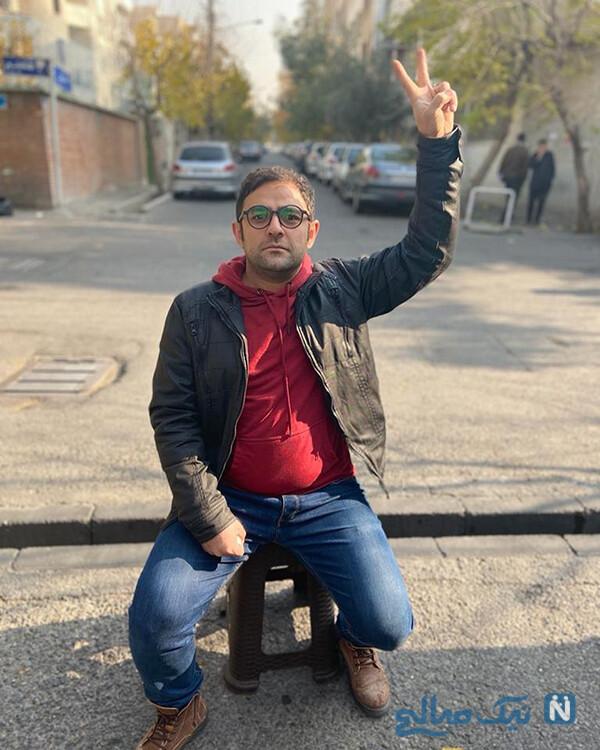علی عامل هاشمی بازیگر نقش شهاب در سریال سرباز و همسرش پگاه