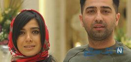 علی سخنگو و همسرش سارا نجفی بازیگران سریال دل