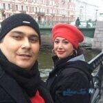 تولد رضا داودنژاد در شرایط کرونایی در کنار همسرش غزل