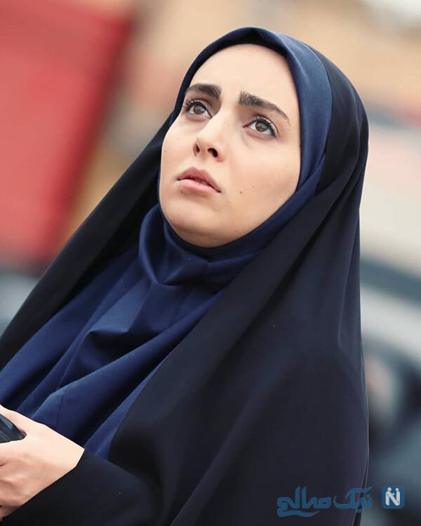 عکس های مهشید جوادی بازیگر نقش مرضیه در بچه مهندس