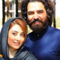 الهام طهوری و همسرش حامد احمدجو در سالگرد عاشقی