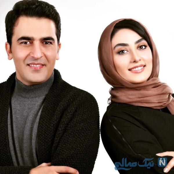 زوج بازیگر ایرانی