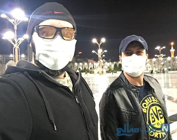 بازیگران با ماسک