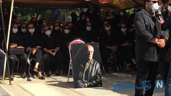 تشییع جنازه سیروس گرجستانی