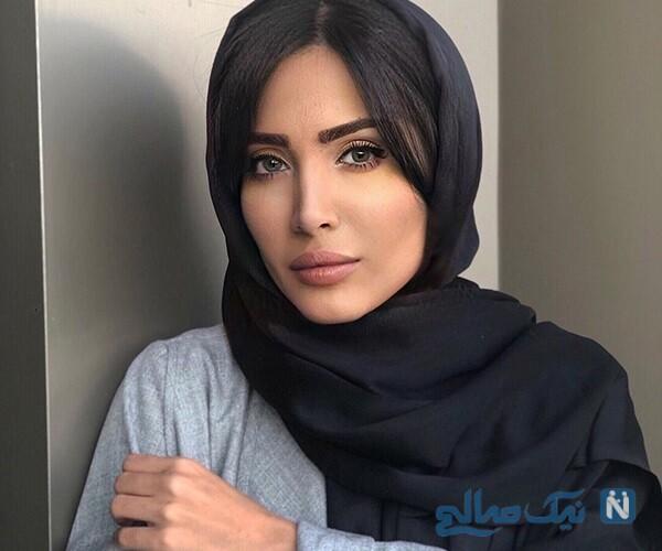عکس های آیتک جاویدنژاد بازیگر نقش الناز در سریال هم گناه