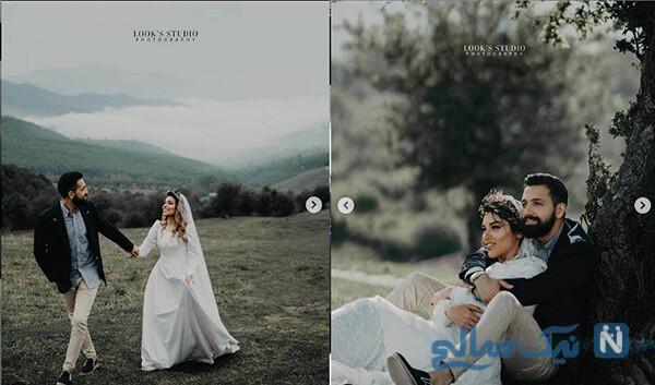 عروسی بازیگر پرحاشیه