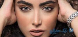 کشف حجاب ساناز طاری بازیگر سریال پدر و خداحافظی اش از بازیگری
