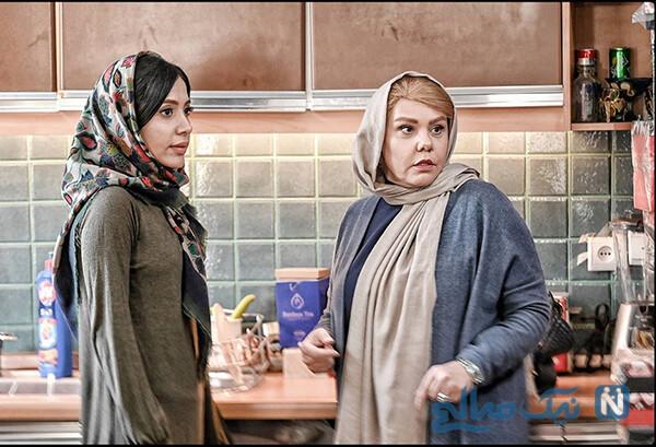 کشف حجاب آیتک جاویدنژاد بازیگر نقش الناز در سریال هم گناه