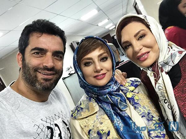 منوچهر هادی سریال دل با خانواده اش به وقت ۴۸ سالگی اش