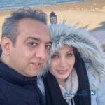 ازدواج بابک صحرایی با گلناز عباسی بازیگر سریال درحاشیه