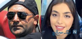 مهدی کوشکی و همسرش ریحانه پارسا در جشن امضای کتاب وی