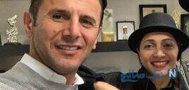 مصاحبه امین حیایی با جیرانی از مانکن بودن گلزار تا همسرش در آمریکا