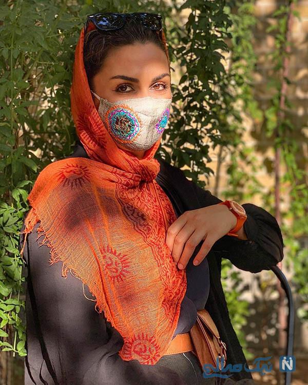عکس های شیوا ابراهیمی بازیگر نقش آتنه در زمین گرم