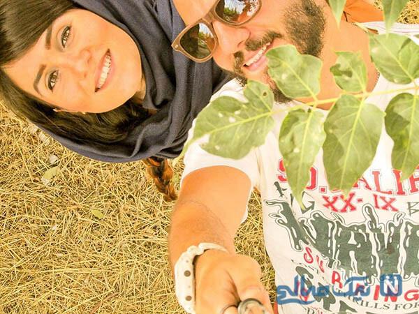 سالگرد ازدواج عباس غزالی