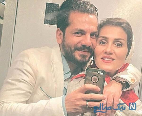 سالگرد ازدواج عباس غزالی و عاشقانه وی برای همسرش