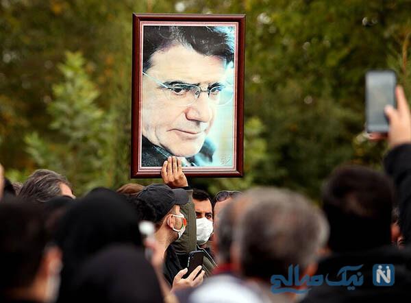 تشییع جنازه محمدرضا شجریان از حضور چهره ها تا وداع با آواز مرغ سحر