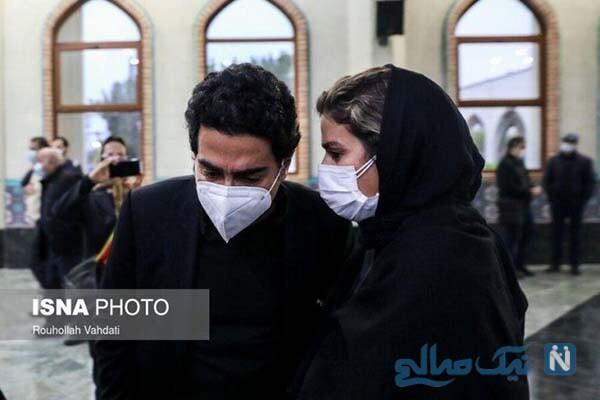 ماجرای ازدواج همایون شجریان و سحر دولتشاهی و حضور خانم بازیگر در خاکسپاری