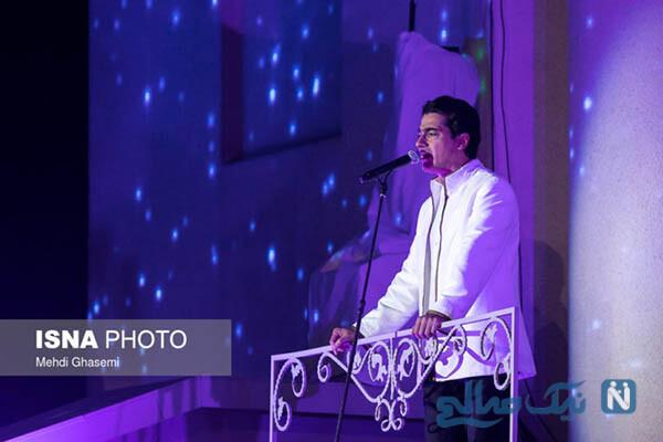 همایون شجریان در کنسرت نمایش سی