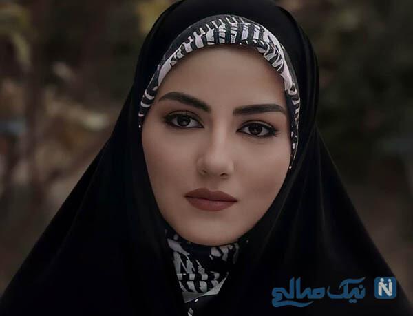 عکس های پردیس پورعابدینی بازیگر نقش راضیه در سریال آقازاده