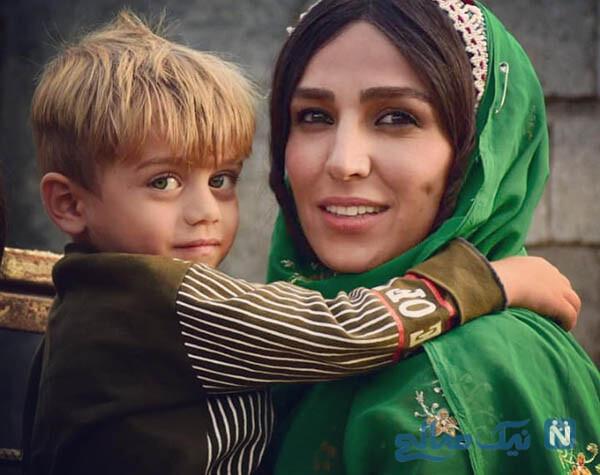 سوگل طهماسبی بازیگر نجلا در نقش ثریا با لباس محلی