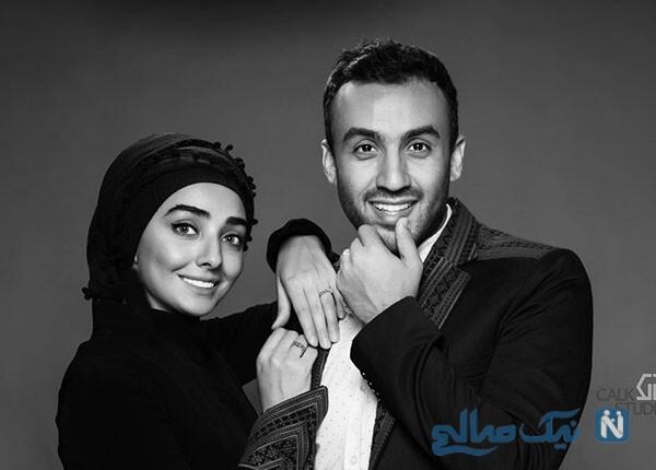 سالگرد ازدواج پویان گنجی و عاشقانه وی برای همسر بازیگرش