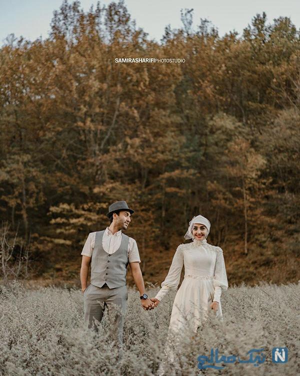 سالگرد ازدواج پویان گنجی