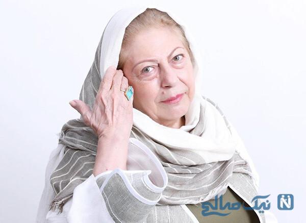 تولد ثریا قاسمی بازیگر پیشکسوت کشورمان و هدیه خاص برای وی