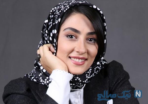 الهام طهموری و همسرش حامد احمدجو بازیگر سریال شرم