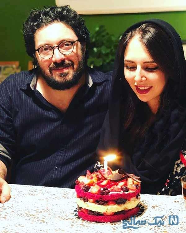 جشن تولد هومن بهمنش و دلنوشته زیبای او برای خانواده اش