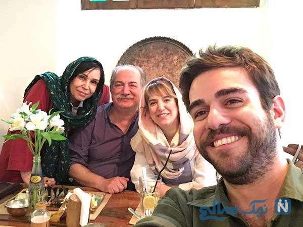 ماجرای ازدواج آتیلا پسیانی با عکس های همسرش فاطمه نقوی