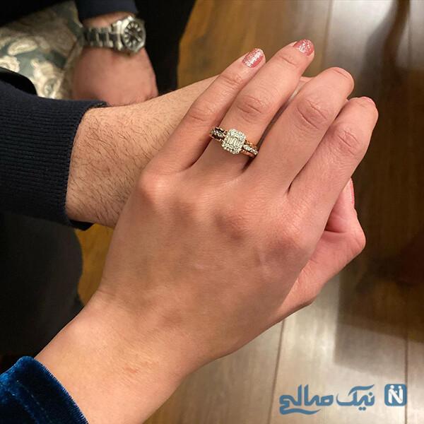 ازدواج مهسا طهماسبی