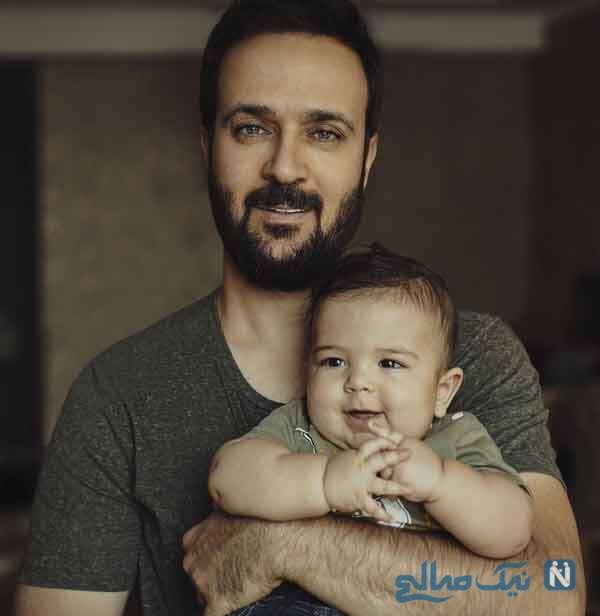 احمد مهرانفر و پسرش