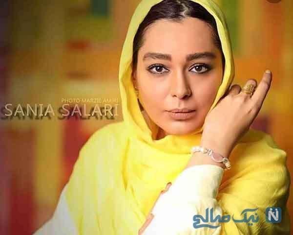 بیوگرافی سانیا سالاری بازیگر نقش نازی در سریال گیسو