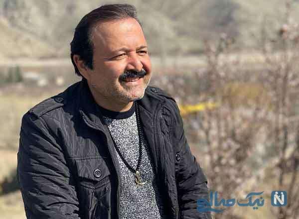 جشن تولد سید علی صالحی بازیگر نون خ با سورپرایز مادرش