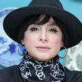 سیما تیرانداز در دودکش بازیگر نقش عفت سوزنچیان با لباس زیبای ترکمنی