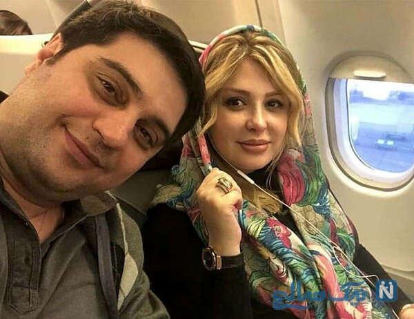 جشن تولد نیوشا ضیغمی با حضور هنرمندان و بدونه همسرش