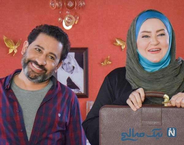 سریال زن زندگی مرد زندگی با حضور نعیمه نظام دوست و سروش جمشیدی