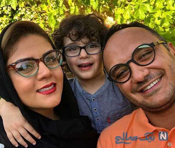 جشن تولد پسر احسان کرمی بازیگر سریال هم گناه