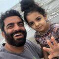 دختر بازیگران ایرانی و پیام های زیبای روز دختر در اینستاگرام