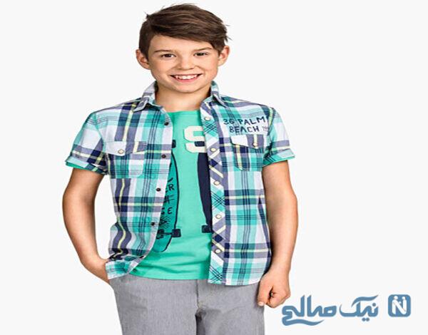 جدیدترین پیراهن و تیشرت پسرانه